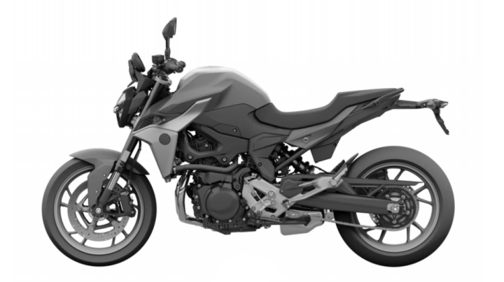 Is this the new BMW F850R?