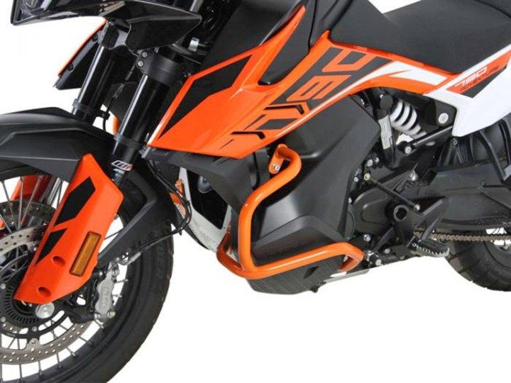 Hepco & Becker develops line of KTM 790 Adventure accessories