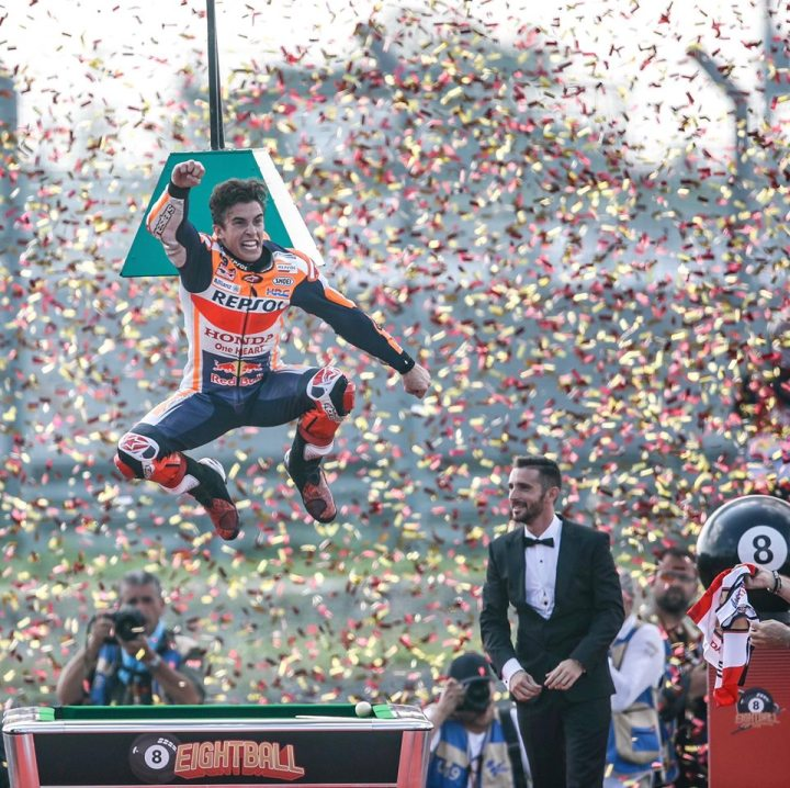 Marc Marquez takes MotoGP championship at Buriram