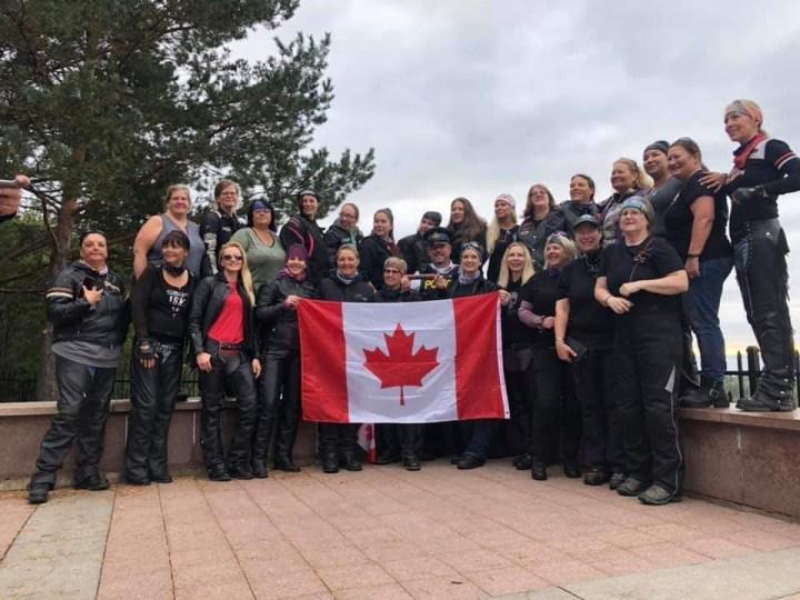 Women Riders World Relay crosses Canada