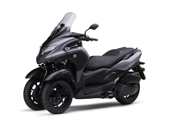 Yamaha unveils the Tricity 300 leaning three-wheeler