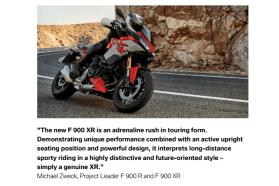 2020 BMW F900 XR