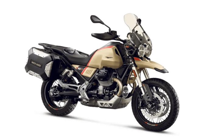 Moto Guzzi V85 TT Travel puts the focus on touring