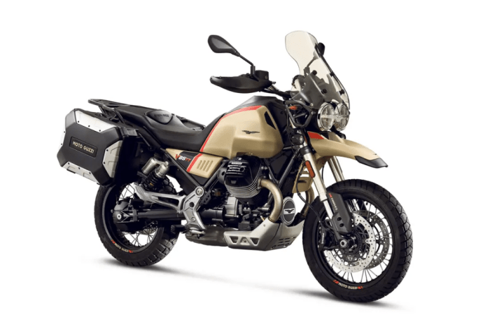 Moto Guzzi V85 TT Travel puts the focus on touring