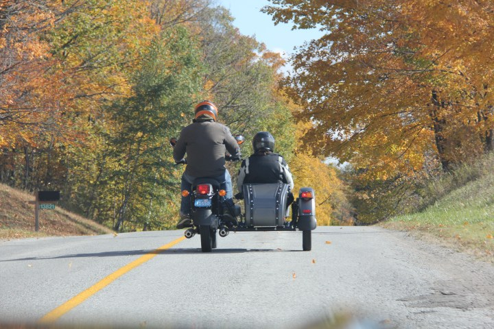 How to: Ride a Ural with a sidecar