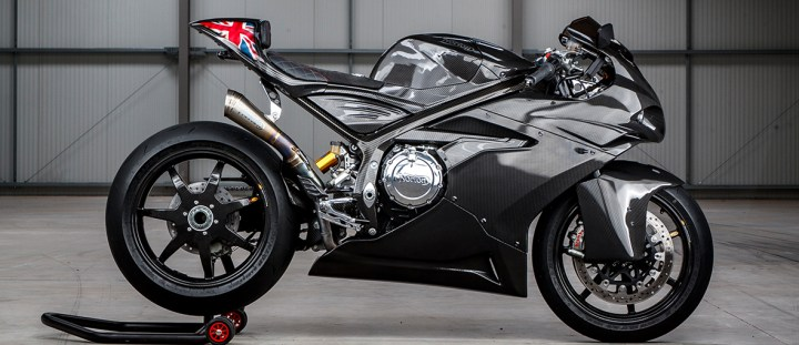 Norton Superlight SS: Supercharged, with lots of carbon-fibre