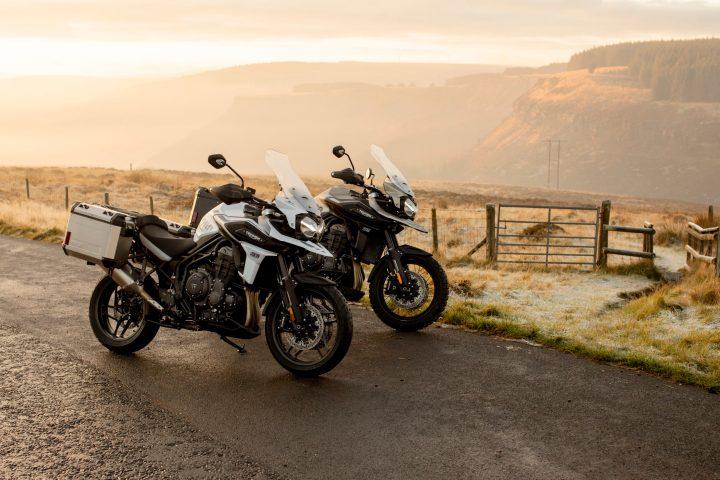 Triumph announces new Tiger 1200 Desert Edition, Alpine Edition