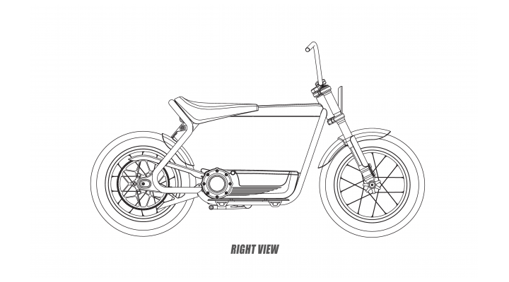 Harley-Davidson files design patents for electric scooter