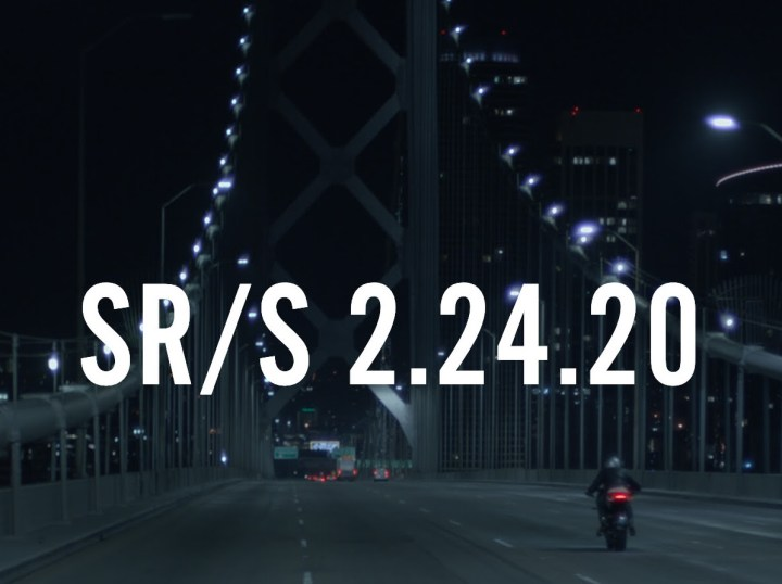 Zero is about to launch the SR/S electric motorcycle