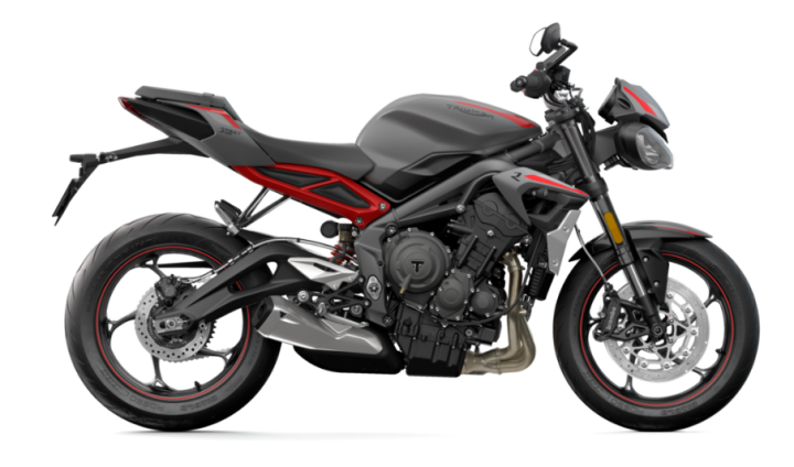 More details on the Triumph Street Triple R