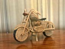 The wicker bike from Malaysia.