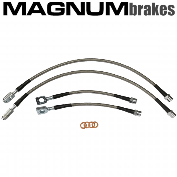 MagnumBrakes Stainless Steel Brake Lines for 2013 Acura