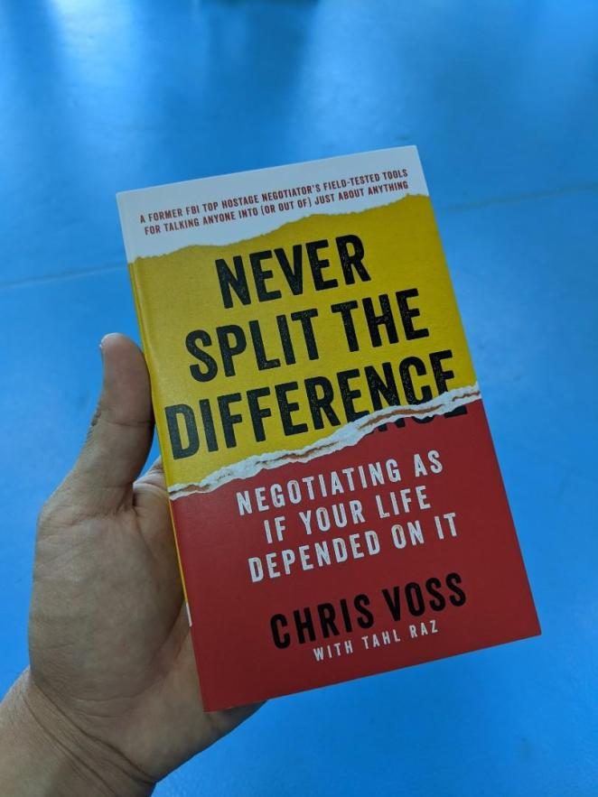 Never Split the Difference PDF : Negotiating As If Your Life Depended On It