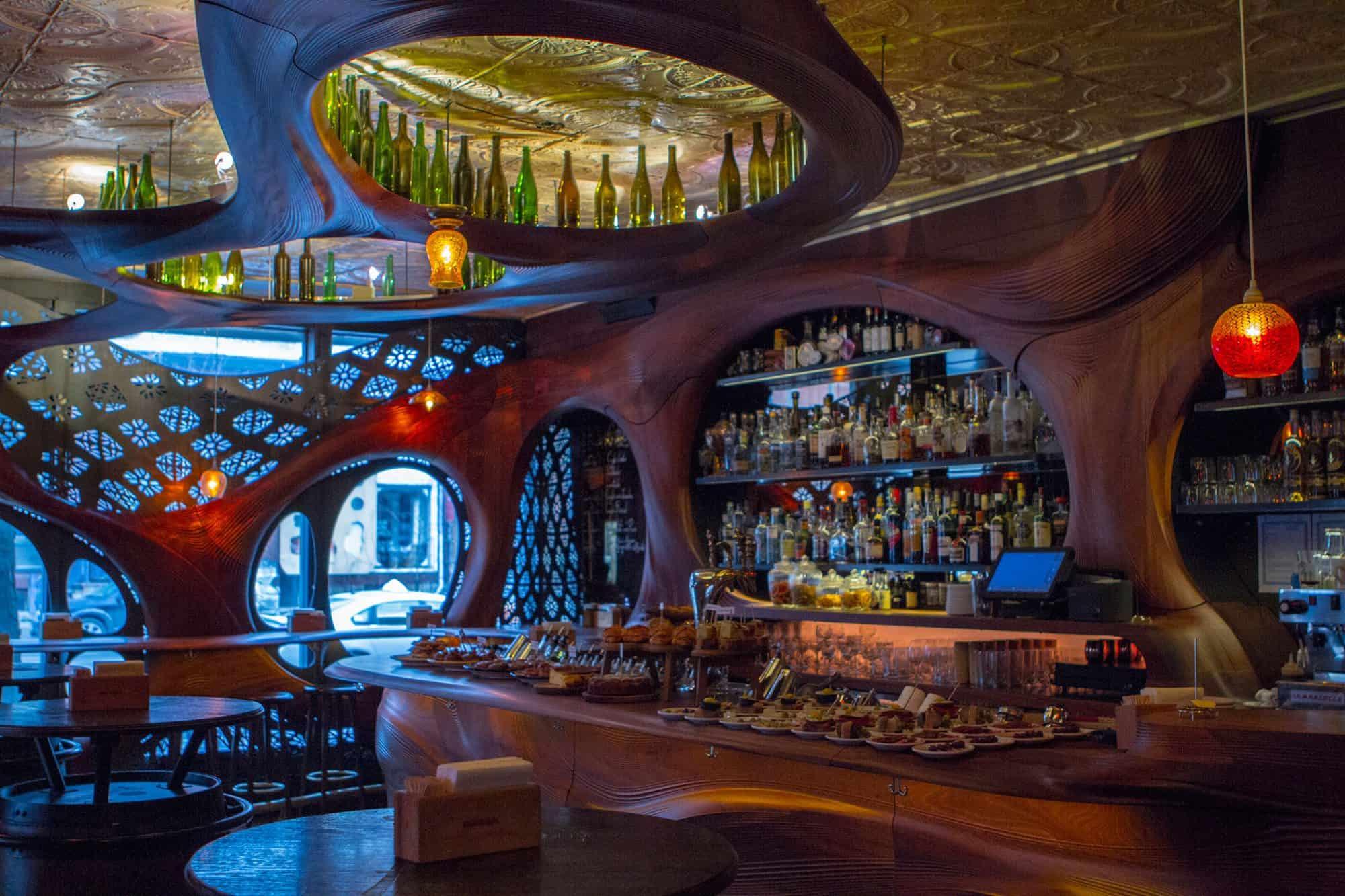No 9 Bar Raval  Canadas 100 Best  Restaurants