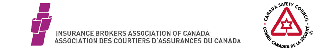canada safety council and insurance brokers association of canada logos