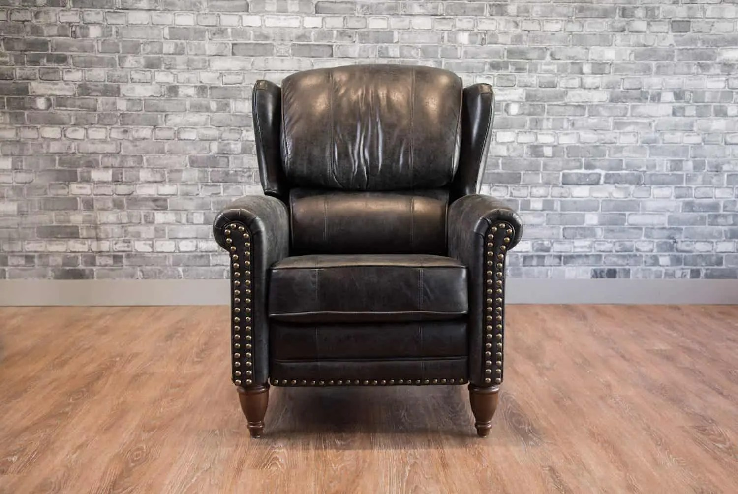 Wingback Recliner Chair The Jameson Recliner Wingback Leather Chair