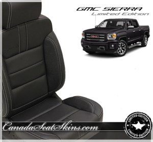 GMC Sierra Limited Edition Leather Seats