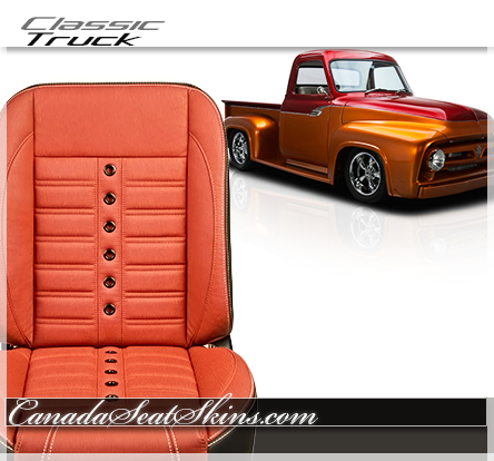 Classic Truck Restomod Seats and Upholstery
