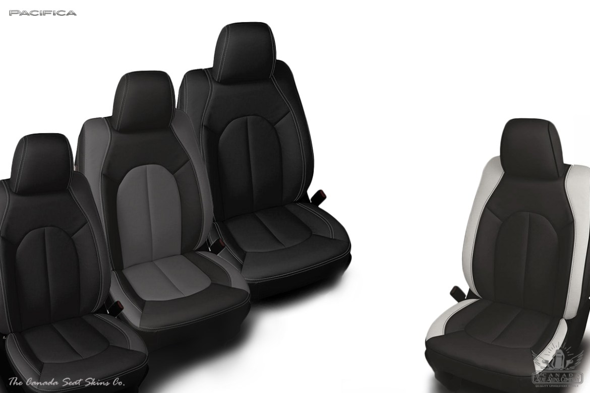 2017 Chrysler Pacifica Custom Leather Interior Sales Sheet