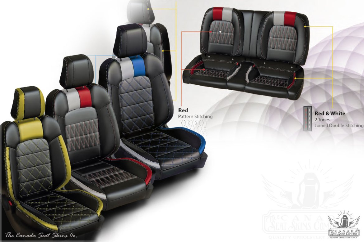 2016 Mustang Leather Interior Pattern Launch