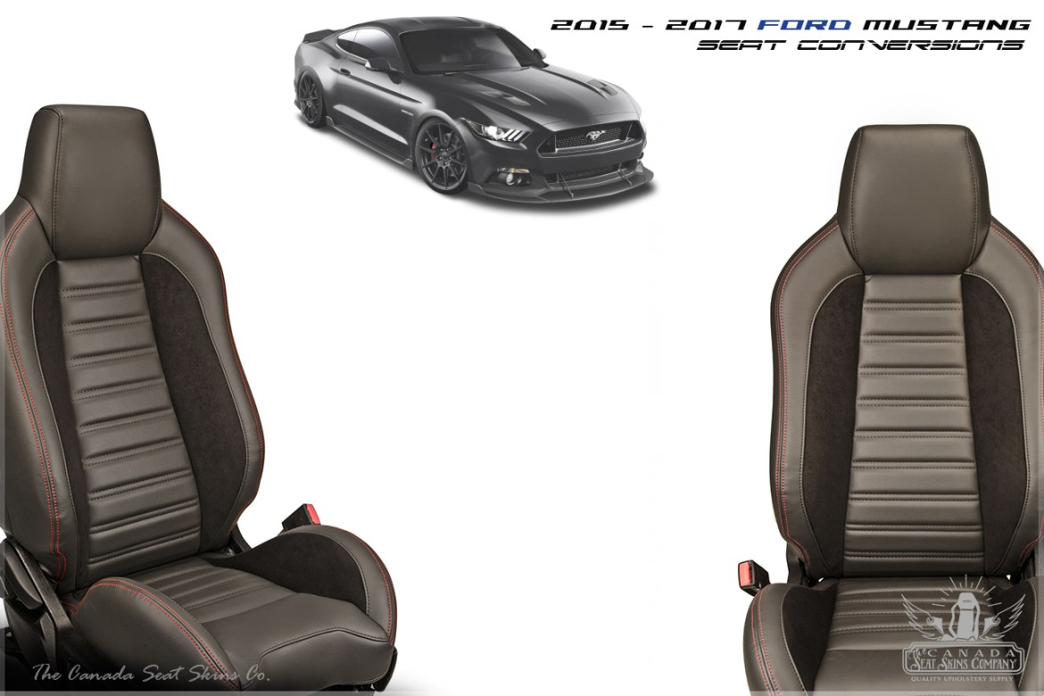 2015 - 2017 Ford Mustang Sport R Seat Kit
