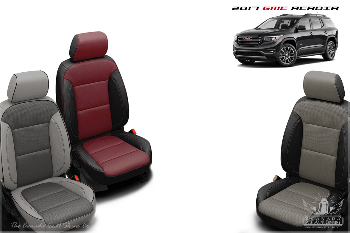 2017 GMC Acadia Leather Seat Conversion Pattern Launch