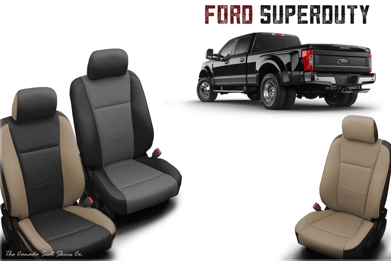 2017 Ford F250 F350 F450 Katzkin Leather Seats Announced