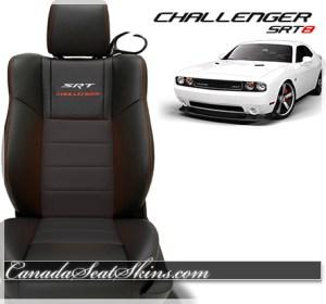 2014 Challenger SRT Katzkin Leather Upholstery