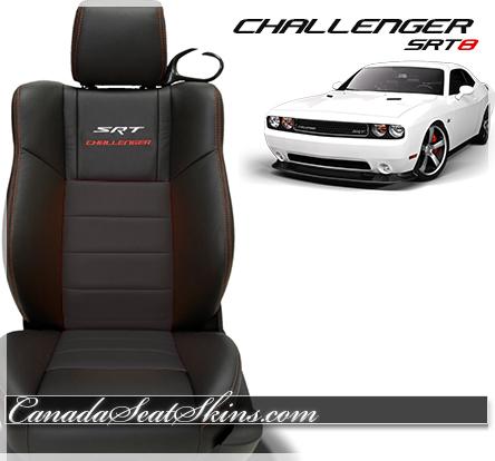 2014 Challenger SRT Katzkin Leather Upholstery Black