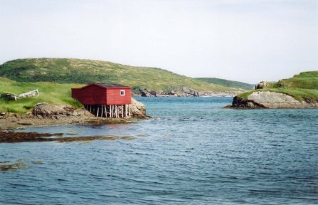 Fishing Shed, Near St. John's, Newfoundland