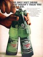 Canada Dry --- Doesn't Treat You Like A Kid