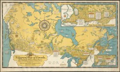 Literary Map of Canada (1936)
