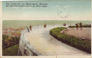 Mount Royal, Montreal, Dated July 30, 1925