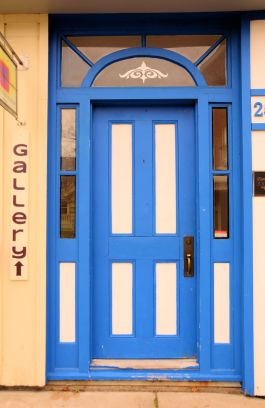 Blue Door, Annapolis Royal, N.S.