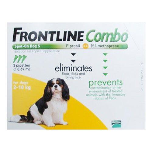 Frontline Combo for Dogs : Frontline Combo Spot-on Flea Tick Treatment - CanadaVetExpress.com