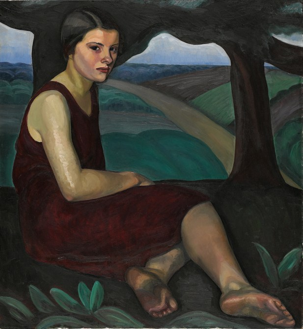 Girl on a Hill, 1928