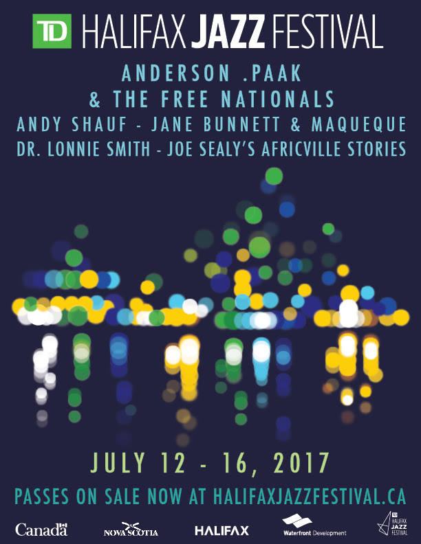 Anderson .Paak & The Free Naturals are set to headline the Halifax Jazz Festival for 2017