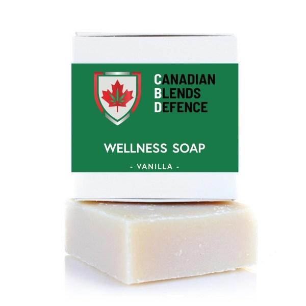 Vanilla CBD Wellness Soap