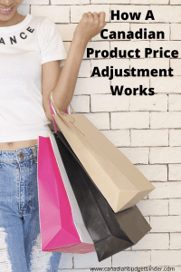 product price adjustment