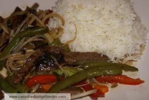 beef vegetable stir-fry