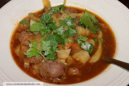Mr.CBB's Sausage Potato Cabbage Tomato Stew