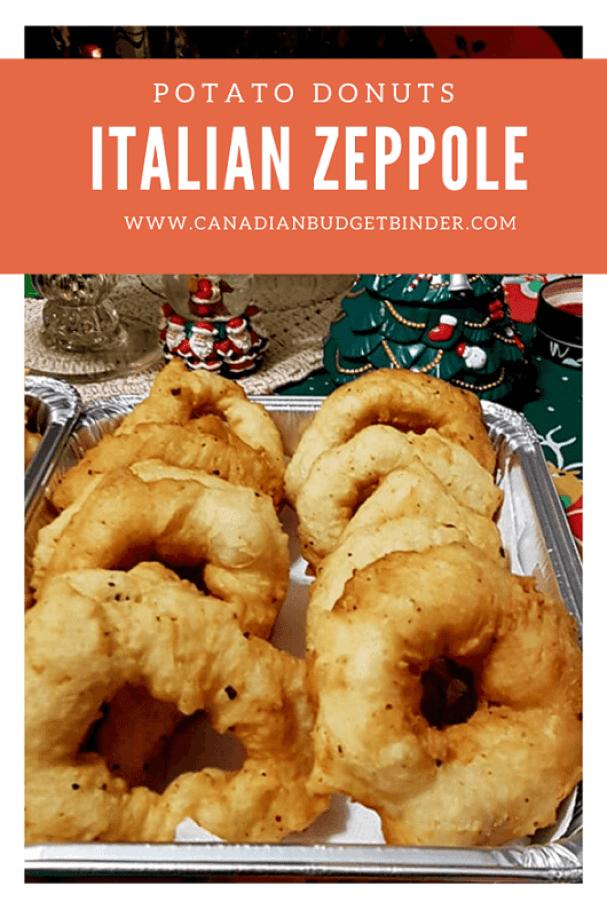 Italian Christmas Donuts