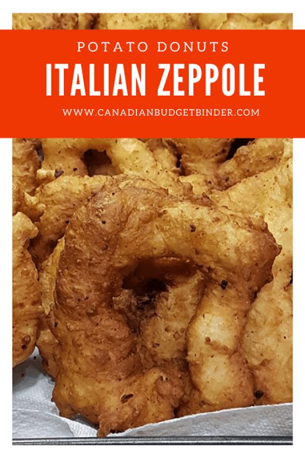 Italian Potato Zeppole