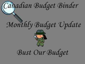 Updating the budget breakdown after paying off debt: Our family budget May 2014