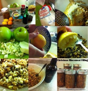 Christmas Mincemeat Filling Part 1….Inside the Pie