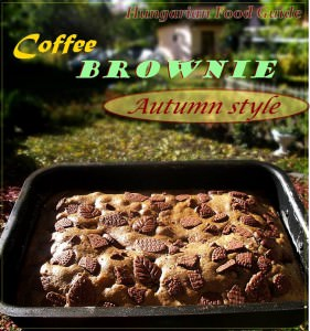 coffee brownie