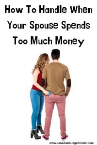 too much money