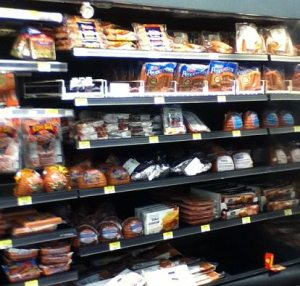 grocery store food
