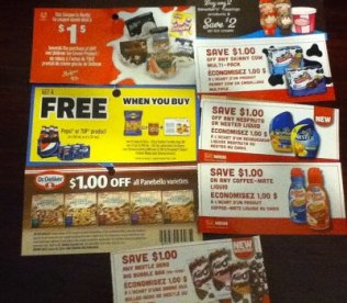 May Canadian Coupons