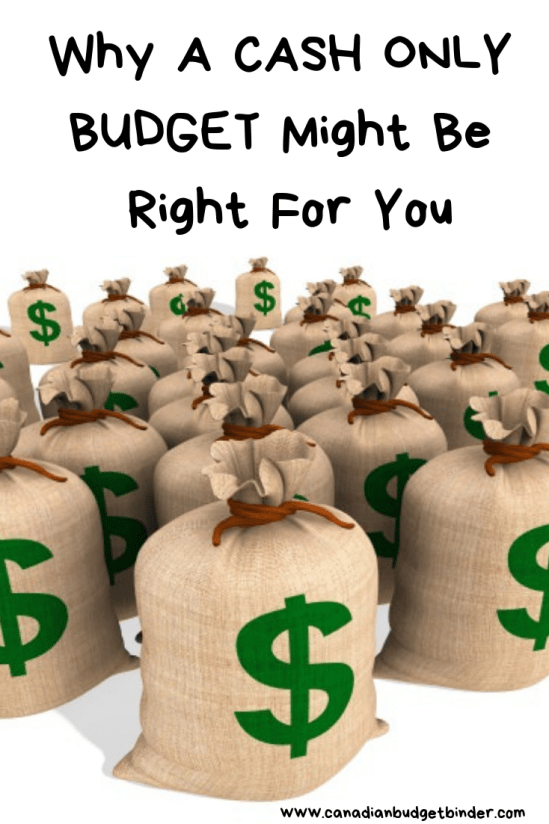 Why a CASH ONLY BUDGET Might Be Right For You